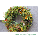 <Order>Early Autumn Wreath40