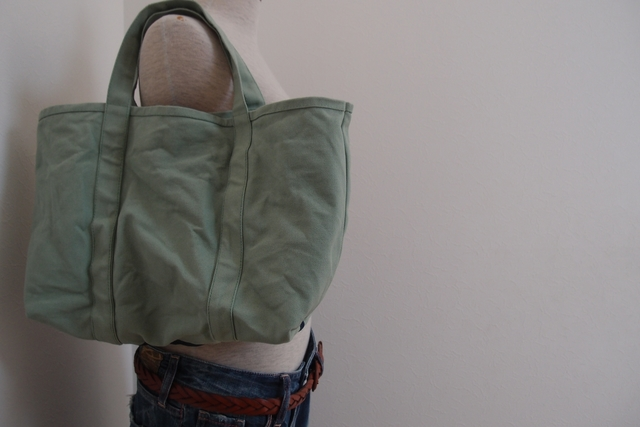 SPRAY GREEN TOTE