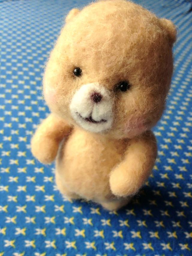 羊毛クマさん
