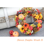 Harvest Pampkin Wreath 25