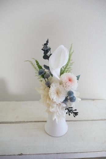 ホワイトカラーお供え花