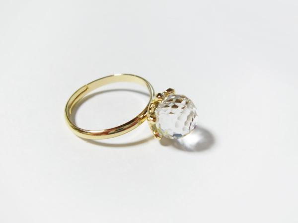 (再販)クリスタルスワロの指輪