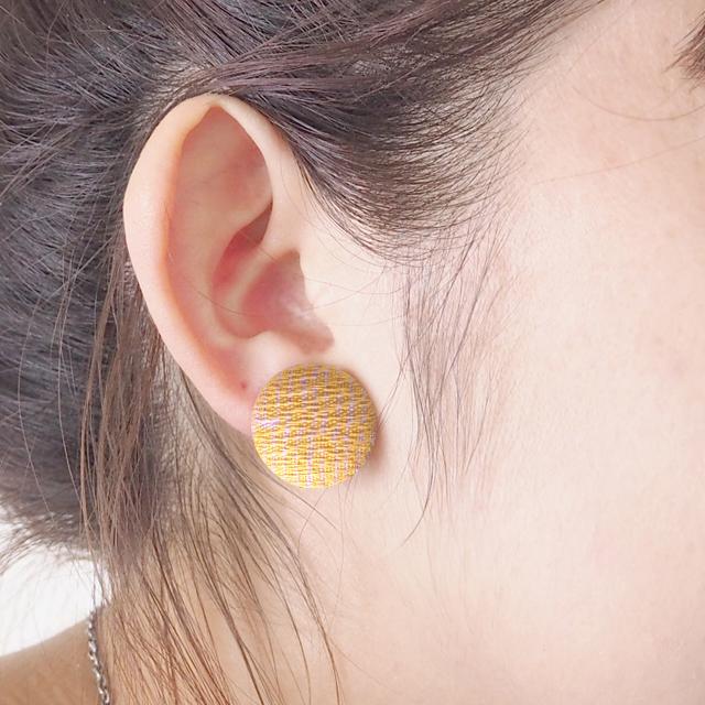Boucle d'oreille du bouton(くるみボタ...