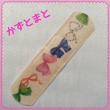12−7*デコばんそうこう☆Mサイズ5枚入【送料込】