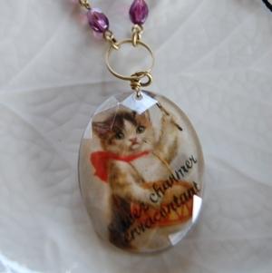 仔猫のネックレス