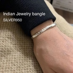 Indian Jewelry bangle sSILVER950