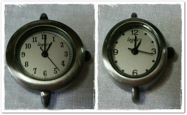 ☆送料無料☆懐中時計作りなどに 時計パーツ 2個
