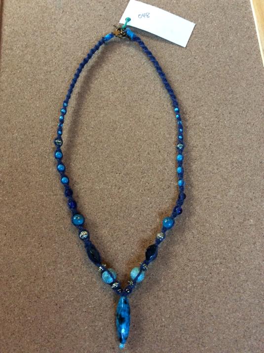 ネックレス048 BLUE BLUE
