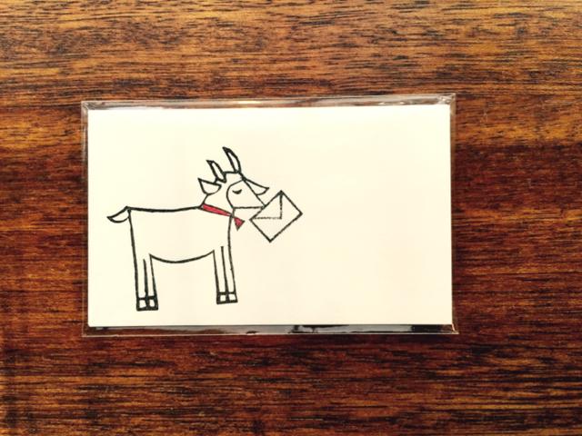 ヤギさん郵便 メッセージカード 15枚セット