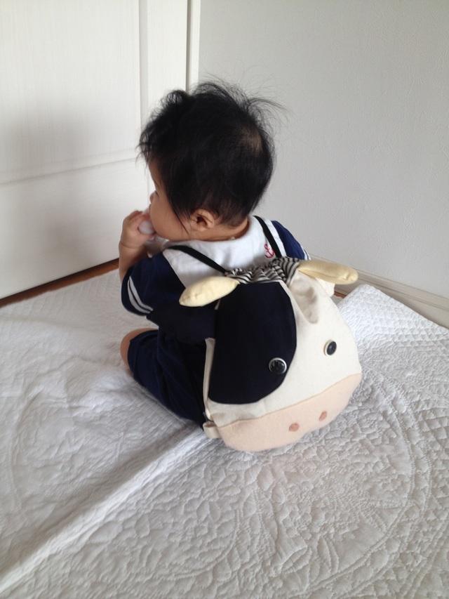 赤ちゃんリュック《牛さん》