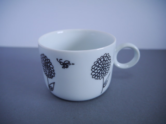 [再販] ダリアのマグカップ