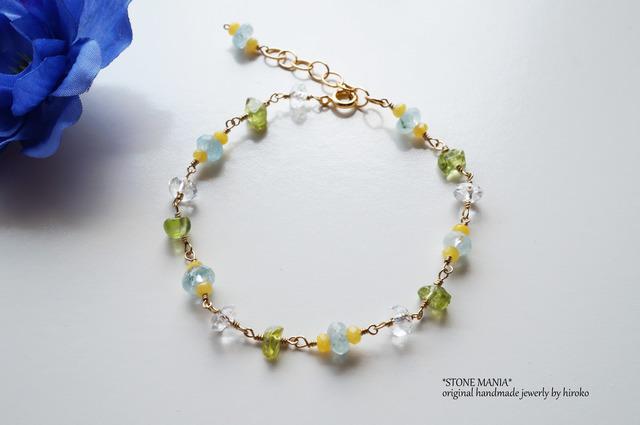 ?Cool stone bracelet?