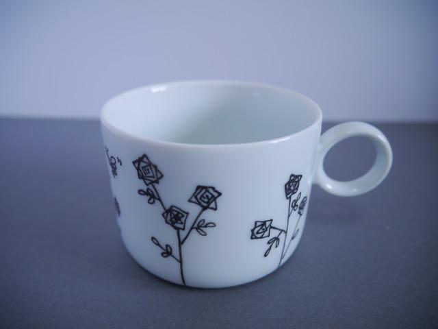 野バラのマグカップ