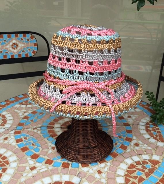 金銀パステル調Hat