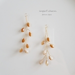 【新色】import charm  wire leaf  2pcs