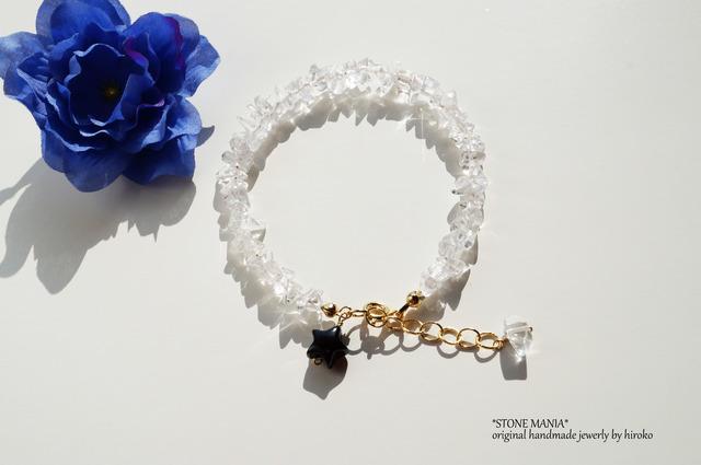 ?Rock crystal?Shine bracelet?