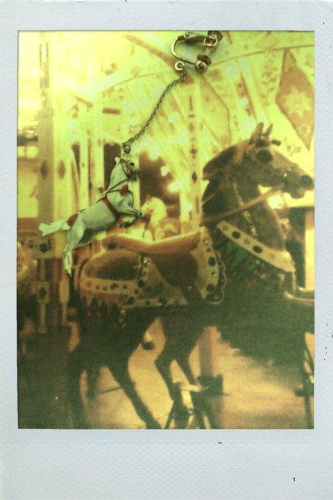 メリーゴーランドのお馬さん