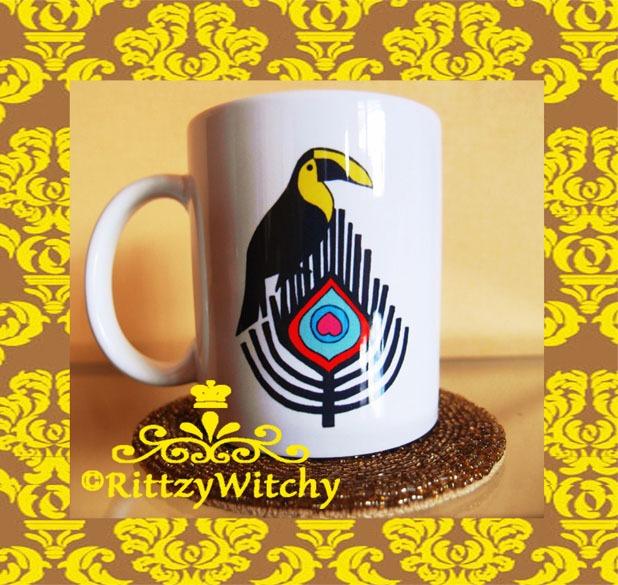 オリジナルRittzyバードのマグカップ