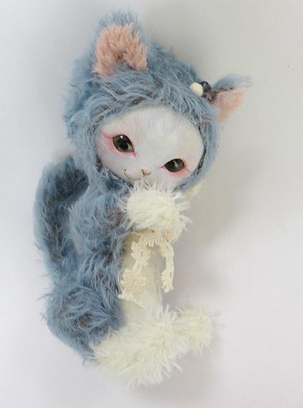 フェイスタイプドール*青猫(ブルーダークバック)