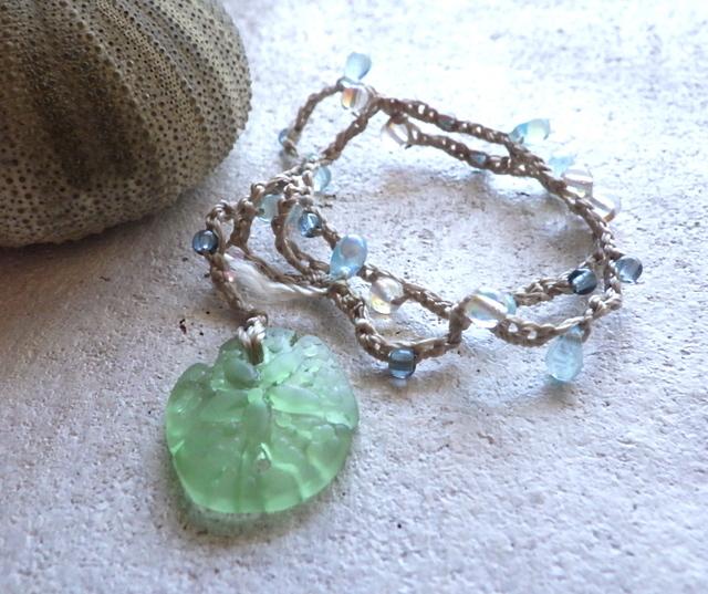 Sanddollar Beach Wrap Bracelet