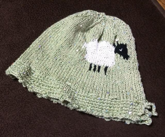 ひつじちゃんの帽子