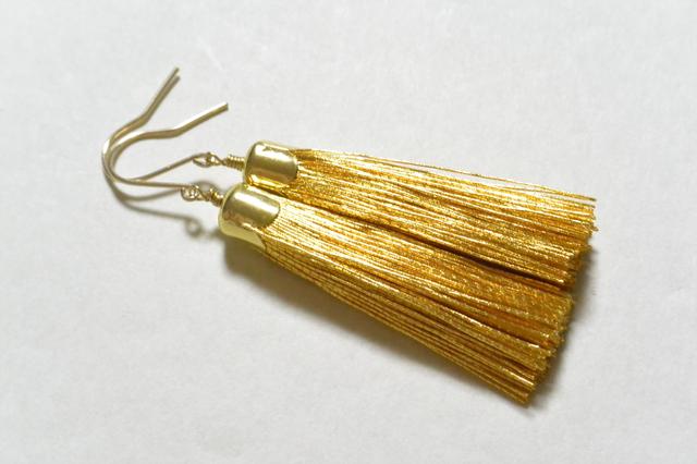 金糸のピアス(14kgfフック)
