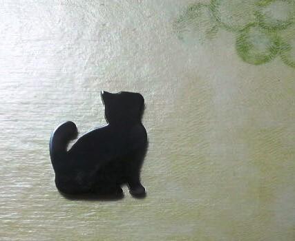 Sale▼black cat brooch