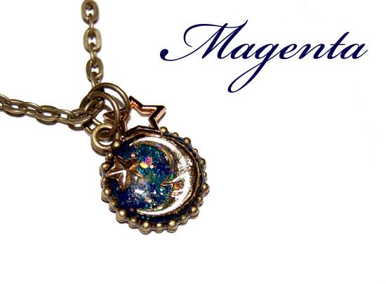 Marchen★ 夢見るCrescent moonネックレス(a)
