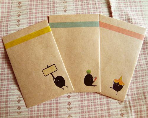 ぽち袋 3種×3セット