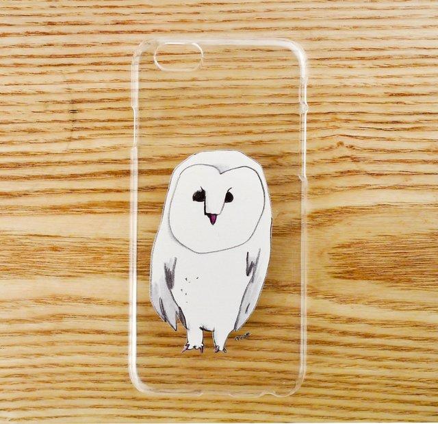 【iPhone6ケース】メンフクロウ