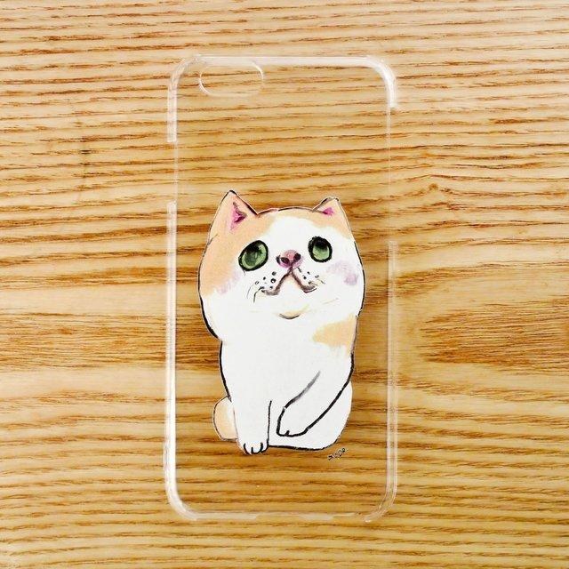 【iPhone6/6sケース】へちゃねこ