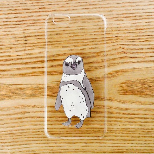 【iPhone6ケース】ペンギンひとり