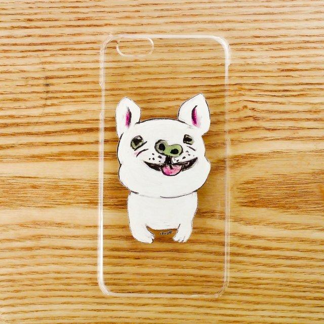【iPhone6/6sケース】フレンチブルドッグ