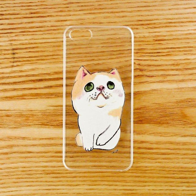 【iPhone5/5sケース】へちゃねこ