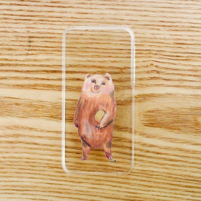 【iPhone5Cケース】くまやし