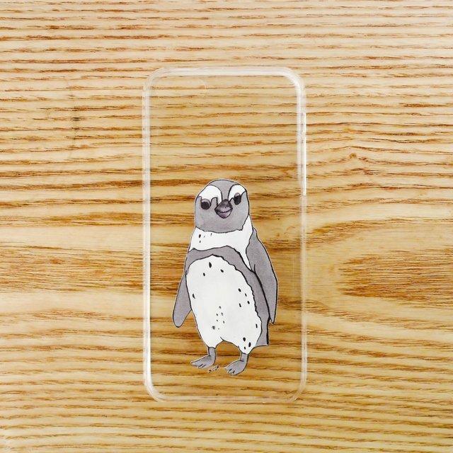 【iPhone5Cケース】ペンギンひとり