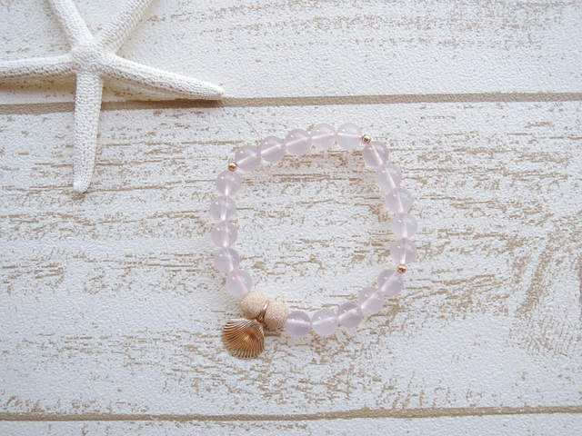 14kgf Rose Quartz ブレス