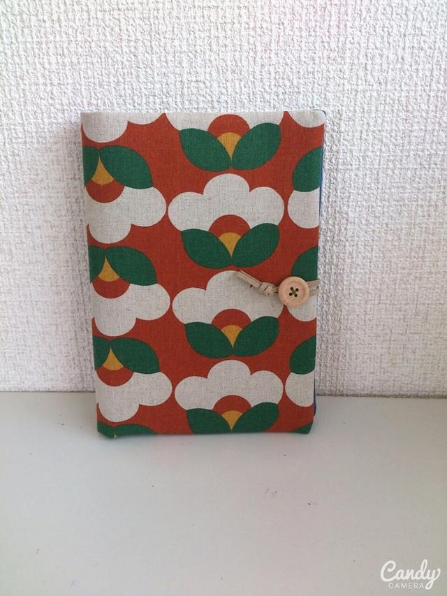 椿柄母子手帳、通帳ケース