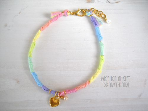 MICANGA ANKLET Dreamy Heart