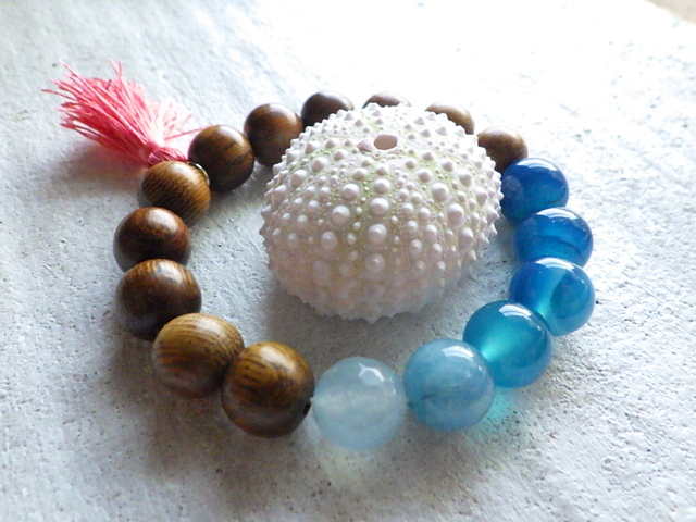 Ocean Blue Gradation Bracelet