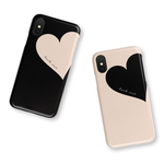Big Heart♡Beige 名入れ/スマホケース/iPhoneケース/iPhoneSE2/iPhone8/iPhoneXS/iPhone11pro/Xperia/Galaxy