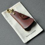 "key case ""cowbell""  dark brown  キーケース"