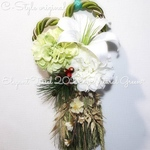 豪華タッセル ~しめ縄~elegant tassel ~natural green