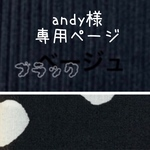 andy様 専用ページです(*^_^*)