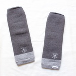 【 Fluffy - arm &leg cover / Dark gray   】Kuromeくつした