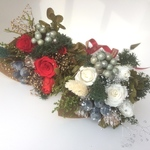 2020 Christmas bouquet(white)