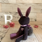 送料無料* monotone rabbit (no.107)