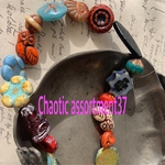 【Chaotic assortment37】czech beads  JIRI assortment20コセット