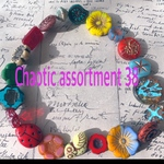 【Chaotic assortment38】czech beads  JIRI assortment 20コセット