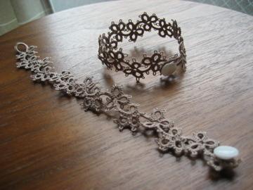 bracelet みつばモカ 18cm